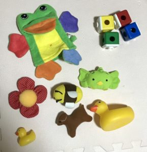 メルカリで買ったプレイアロングのおもちゃ1