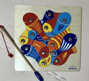 ボーネルンド 魚釣りパズル